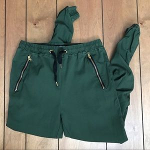 Army Green Men's Carbon Joggers